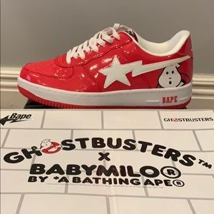 Bape Red Ghostbusters Brand New In Box